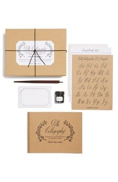 Chronicle Books 'Belle' Calligraphy Kit available at #Nordstrom