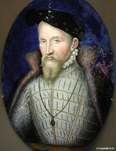 Léonard Limosin : François Ier de Lorraine : François de Lorraine, duc de Guise - Léonard Limosin - Musée du Louvre