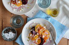 Beet-Citrus Salad {An Edible Mosaic}