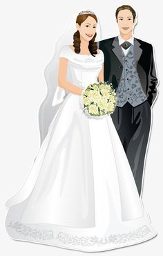 Tips For Planning The Perfect Wedding Day Wedding Art, Wedding Pics, On Your Wedding Day, Wedding Couples, Wedding Bride, Perfect Wedding, Wedding Dresses, Wedding Illustration, Couple Illustration