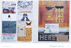 April 2014 Project Life cont by lifelovepaper at @Studio_Calico #SCcamelot