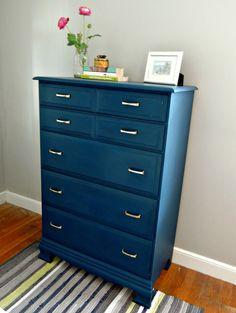 velvet finishes handsome on dresser