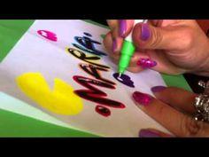 Letra Timoteo - decoración Pacman - YouTube