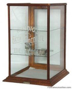 Merveilleux Oak Countertop Store Display Cabinet