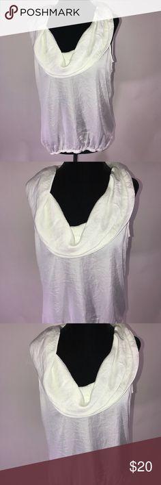 Cute white Michael Kors shirt Cute white Michael Kors shirt sleeveless  Length 24' Pit to pit 21' Michael Kors Tops