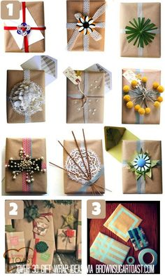 30 gift wrapping ideas