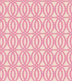 Home Decor Fabric-Annie Selke Pearls Pink, , hi-res Pink Home Decor, Home Decor Fabric, Living Room Pillows, Pink Patterns, Gorgeous Fabrics, Pink Fabric, Joann Fabrics, Fabric Wallpaper, Fabric Swatches