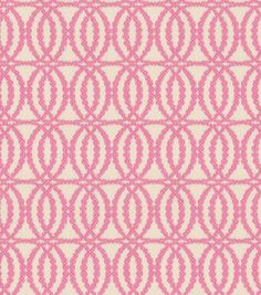 Home Decor Fabric-Annie Selke Pearls Pink : home decor print fabric : home decor fabric : fabric :  Shop | Joann.com- I want it in a different color...