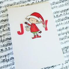 Christmas card made using My Favourite Things Stamps. Design completely inspired by Ardyth Percy Robb.