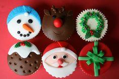 Cupcake Decorating Ideas | Christmas decorations cupcakes 300x200 Christmas baking ideas with the ...