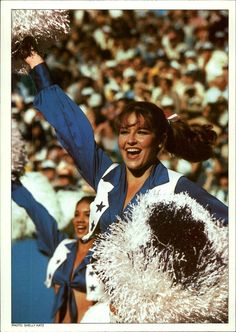 Dallas Cowboys cheerleaders from a 1981 trading card.  The Dallas Cowboys Cheerleaders have been a Texas institution since the Cowboys' glory days of the '70s.