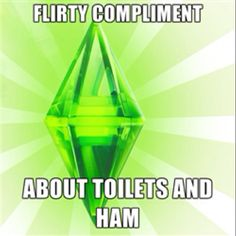 Funny pictures about The Sims Logic. Oh, and cool pics about The Sims Logic. Also, The Sims Logic photos. The Sims, Sims 3, Sims Memes, Funny Memes, Sims Humor, It's Funny, Funny Quotes, True Memes, High Five