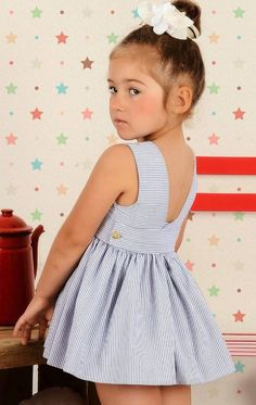 Jesusito Marina de Laura Montaño Baby Girl Dress Patterns, Baby Clothes Patterns, Dress Sewing Patterns, Baby Kids Clothes, Toddler Girl Outfits, Baby Girl Dresses, Baby Dress, Kids Outfits, Flower Girl Dresses