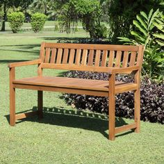 Catalan Wood Garden Bench