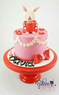 12 Best Olivia the Pig Cakes images   Girl cakes, Cupcake ...