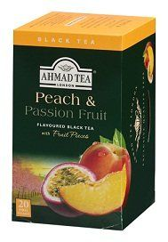 Ahmad Tea Peach & Passion Fruit Black Tea, Boxes (Pack of Ahmad Tea, Making Iced Tea, Coffee Store, Fruit Tea, Exotic Fruit, Gourmet Recipes, Tea Cups, Peach, Passion