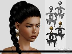 Melting Earrings by Leah Lillith - Sims 3 Downloads CC Caboodle