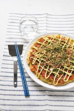 Okonomiyaki: basique et facile (french recipe)