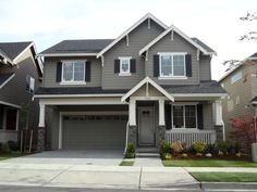 Exterior Paint Combos On Pinterest Grey Houses House