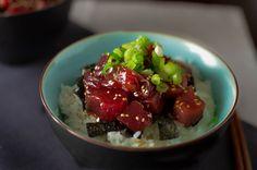 Zuke don - Marinated tuna sashimi on rice.  Tasty and healthy!
