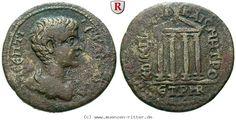 RITTER Pontos, Kabeira-Neokaisareia, Geta, Tempel #coins