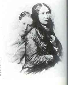 Louise with her mother Louise of the Netherlands