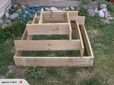 How To Make A Slot Together Pyramid Planter – DIY projects for everyone!