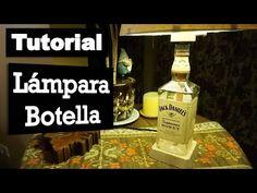Cómo hacer tu propia lámpara botella | Tutorial - YouTube