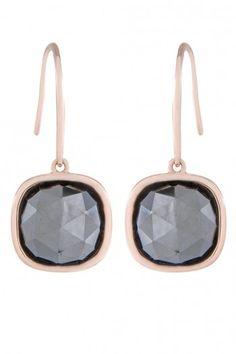 Bronzallure Faceted Stone oorbellen voor dames WSBZ00497E | JewelandWatch.com
