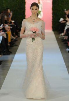 Oscar de la Renta 2015 Spring Wedding Dresses >>click for more>> #bridal #weddingdress #oscardelarenta