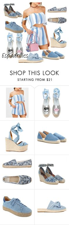 """""""yo hablo espadrille"""" by effortless-and-natural ❤ liked on Polyvore featuring Chiara Ferragni, Ralph Lauren, Jimmy Choo, Tory Burch, Valentino, Marc Fisher LTD and Kendall + Kylie"""