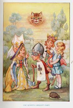 1920 - 1929 - Lewis Carroll - illustrating Alice in Wonderland 1899 - 1929