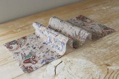 Vintage Print Silk/Cotton Voile