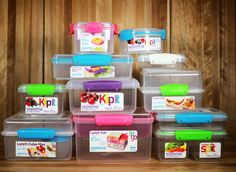 Head back to school or pack up a healthy snack or lunch for a road trip with the Sistema Klip it To Go Lunch Box Containers! Easy to close, and in bright colors these lunch boxes are perfect for kids of all ages! Pack salads, sandwiches, cut vegetables and so much more! This is one Brown Bag Lunch essential you do not want to be without come the first day of school!