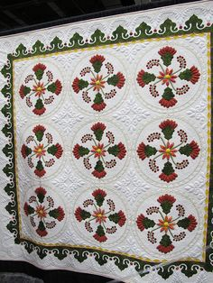 lovely applique and quilting Road to CA 2012