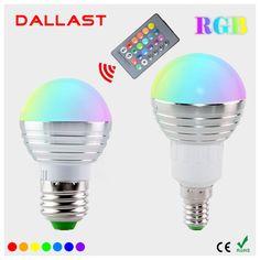 $2.75 (Buy here: https://alitems.com/g/1e8d114494ebda23ff8b16525dc3e8/?i=5&ulp=https%3A%2F%2Fwww.aliexpress.com%2Fitem%2FLED-RGB-Bulb-Lamps-E27-E14-AC110V-220V-85-265V-5W-LED-RGB-Spot-Lighting-Dimmable%2F32781632999.html ) LED RGB Bulb Lamps E27 E14 AC110V 220V 85-265V 5W LED RGB Spot Lighting Dimmable RGB Bulb Light With 24KEY IR Controller  for just $2.75