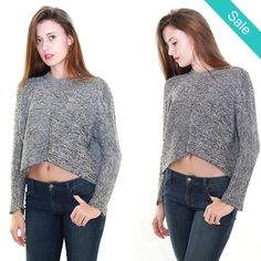 BCBGeneration #Charcoal Stitch #Sweater - On Sale for $77.99 (was $98.00)