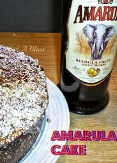 Cake ~ Traditional South-African Cake with a delicious Amarula Chocolate Ganache South African Dishes, South African Recipes, Baking Recipes, Cake Recipes, Dessert Recipes, African Cake, Delicious Desserts, Yummy Food, Delicious Chocolate