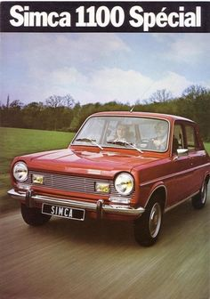Simca 1100 Special rouge FRA 001