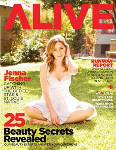 ALIVE Magazine March 2010  ALIVE's March 2010 issue featuring Jenna Fischer
