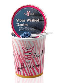 Pink Zebra at Home - PZ 16 oz. Carton Sprinkles - Stone Washed Denim Change your fragrance. Change Lives.  http://www.pinkzebrahome.com/ashleighhope