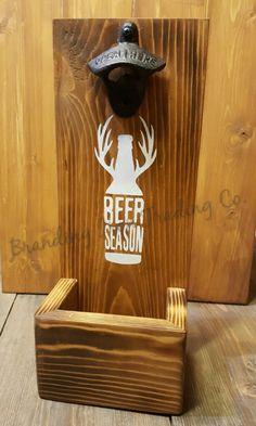 Bottle Opener & Cap Collector - Beer Season