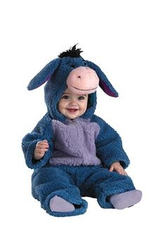 Disney Baby Eeyore Plush Bodysuit Infant / Toddler Costume A classic Winnie the Pooh character for your little one. Transform your little cutie into the lovable Eeyore this Halloween! Halloween Bebes, Baby Halloween Costumes, Women Halloween, Infant Halloween, Halloween Projects, Halloween Nails, Halloween Makeup, Halloween Crafts, Halloween Party