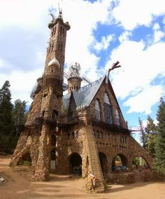 Bishop Castle in Colorado, just over the hill from my house!!