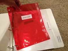 Susan Hardin's DIY: Making My Student Binders post - This will save even the most unorganized student!  I wish I'd used them years ago.  For everything that travels back and forth from school to home and back again... here is a step-by-step breakdown of what to include in your student binders to help make your year go more smoothly!  Lots of pictures to see!  www.3rdgradegrapevine.blogspot.com