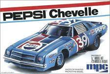 MPC 1/25 1975 Chevy Chevelle Stock Car-Pepsi  MPC 808 Plastic Model Kit