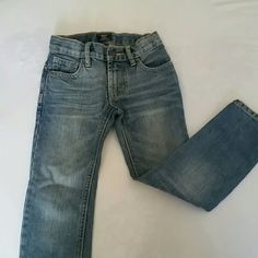 Boys size 5 GAP skinny Jeans NWOT Gap kids Size 5 Boys skinny jeans. Medium wash. My son wore this once for 2 hours in October to take family pictures. These jeans are in perfect condition. GAP Jeans Skinny