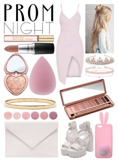 """Perfect Prom Night#2"" by paulahastings ❤ liked on Polyvore featuring Michael Kors, MAC Cosmetics, Too Faced Cosmetics, Kate Spade, Deborah Lippmann, Miss Selfridge, Urban Decay, Monsoon and Verali"