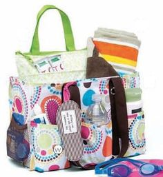 Beach bag- great summer birthday gift idea! www.mythirtyone.com/271164