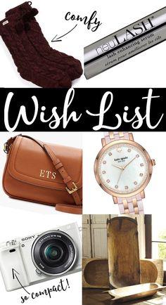 my favorite things christmas wish list